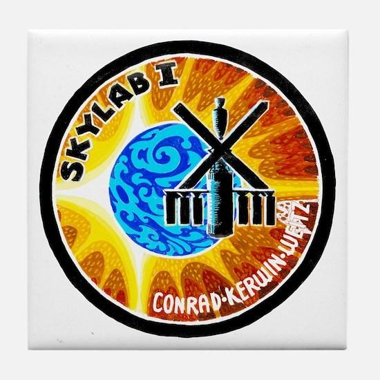 Skylab 1 Mission Patch Tile Coaster