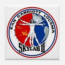 Skylab 2 Tile Coaster