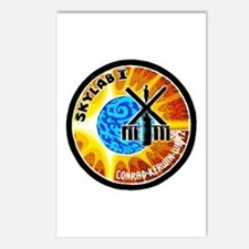 Skylab 1 Mission Patch Postcards (Package of 8)