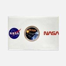 Skylab Program Logo Rectangle Magnet