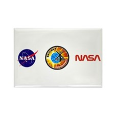 Skylab 1 Mission Patch Rectangle Magnet