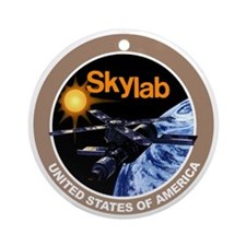 Skylab Program Logo Ornament (Round)