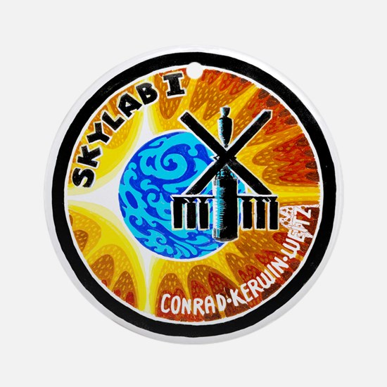 Skylab 1 Mission Patch Ornament (Round)
