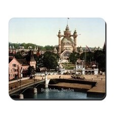 Vintage - Stockholm, Sweden Mousepad