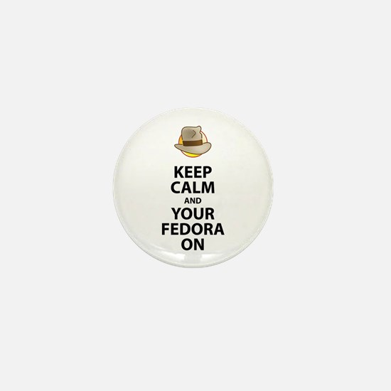 Keep Calm And Your Fedora On Black Text Updated Mi