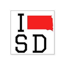 I Heart South Dakota Sticker