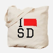I Heart South Dakota Tote Bag