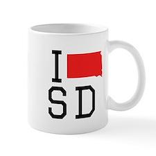 I Heart South Dakota Mugs