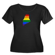 Maine Plus Size T-Shirt