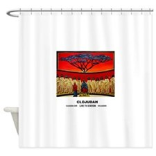 CLOJudah Rastafari Last Supper Shower Curtain