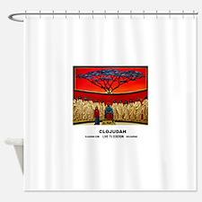 CLOJudah Rastafari Last Supper Shower Curtain
