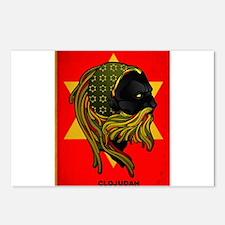 CLOJudah Rastafari Star Postcards (Package of 8)