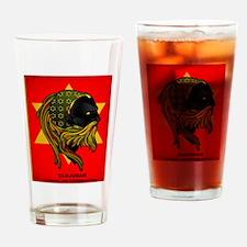CLOJudah Rastafari Star Drinking Glass