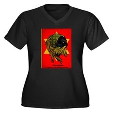 CLOJudah Rastafari Star Plus Size T-Shirt