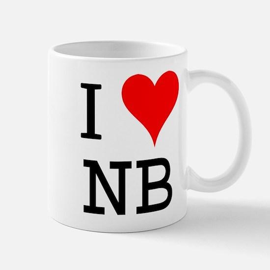 I Love NB Mug
