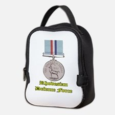 Rhodesian Defence Medal Neoprene Lunch Bag