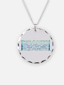 # 1 Teacher Necklace