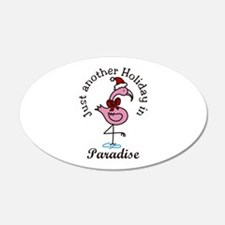 Holiday In Paradise Wall Decal