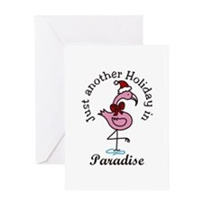 Holiday In Paradise Greeting Cards