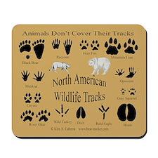 Animal Tracks Mousepad
