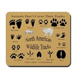 Animal Tracks Mousepad
