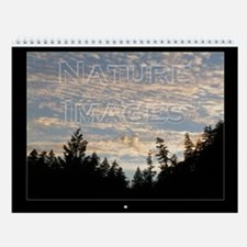 Nature Images Wall Calendar