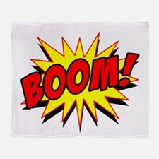 Boom! Throw Blanket