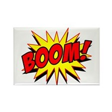 Boom! Rectangle Magnet (10 pack)