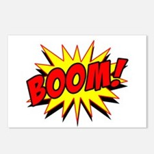 Boom! Postcards (Package of 8)