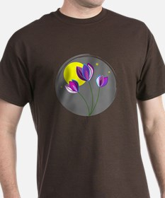 Midnight Flowers - T-Shirt