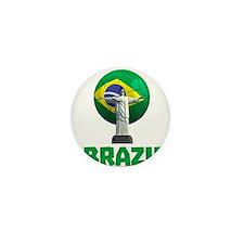 Brazil Soccer 2014 Mini Button (10 pack)