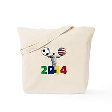 USA soccer Tote Bag