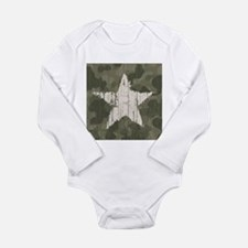 Military Star Body Suit