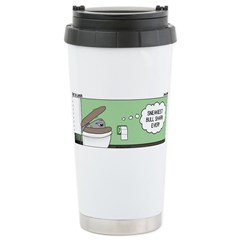 Snowman of the Apes Travel Mug