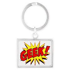 Geek! Landscape Keychain
