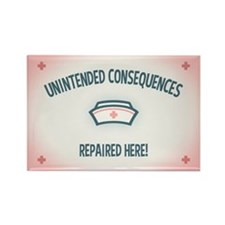 Unintended Consequences Rectangle Magnet