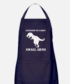 T-Rex Small Arms Carry License Dinosaur Apron (dar