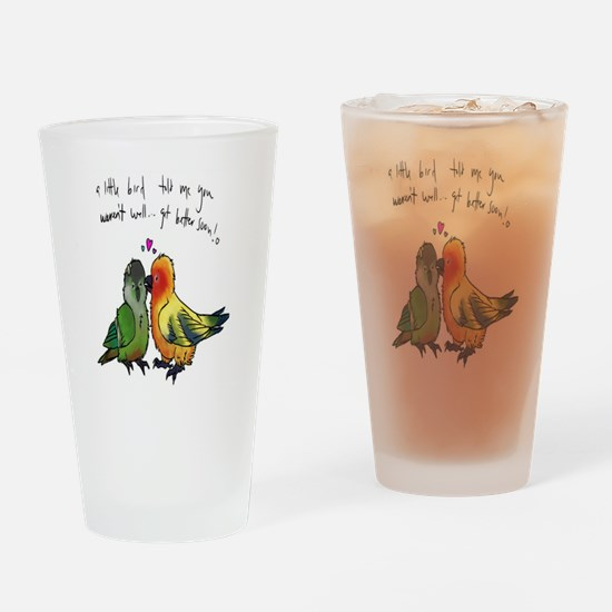 Fire & Ice Drinking Glass