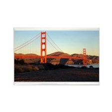Sunrise Golden Gate Rectangle Magnet