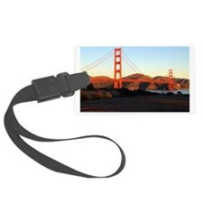 Sunrise Golden Gate Luggage Tag