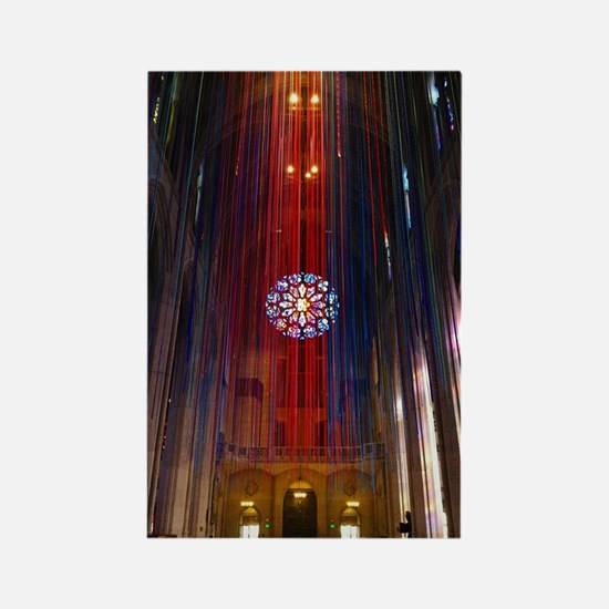 Grace Cathedral Rectangle Magnet