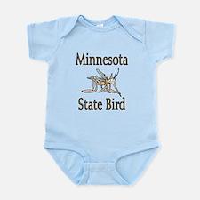 Minnesota State Bird Infant Bodysuit