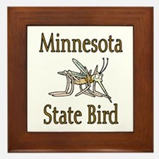 Minnesota State Bird Framed Tile