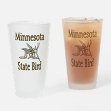 Minnesota State Bird Drinking Glass