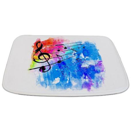 Colorful Music Bathmat