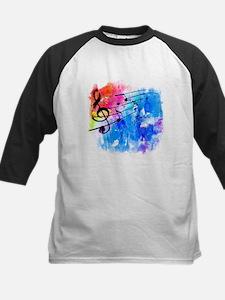 Colorful music Baseball Jersey