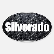 Silverado Diamond Plate Decal