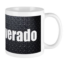 Silverado Diamond Plate Mugs