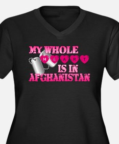 Cute Afghanistan sucks Women's Plus Size V-Neck Dark T-Shirt