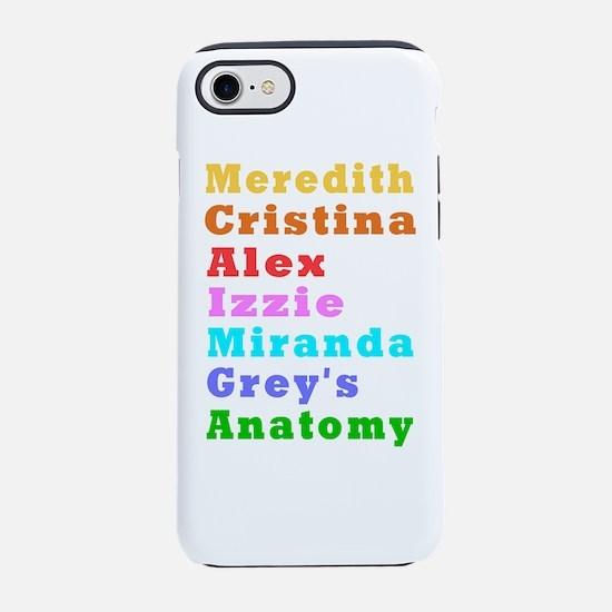 Greys Anatomy iPhone 7 Tough Case